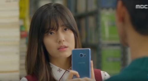 actress-nam-ji-hyun-in-a-scene-on-mbcs-shopping-king-louie